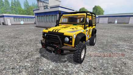 Land Rover Defender 90 para Farming Simulator 2015
