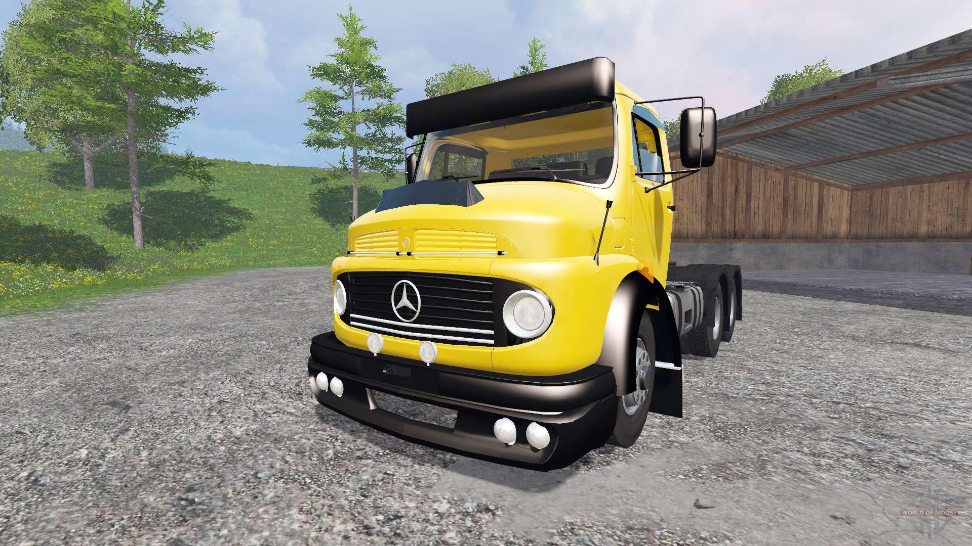 12753 Mercedes Benz 1114 on Tractor Truck