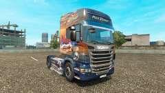 Homens de Poder para a pele do Scania truck para Euro Truck Simulator 2
