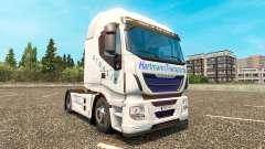 Hartmann Transporte de pele para Iveco unidade de tracionamento para Euro Truck Simulator 2