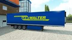 Pele de Walter sobre o trailer para Euro Truck Simulator 2