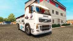 A pele da Adidas para a Volvo caminhões para Euro Truck Simulator 2
