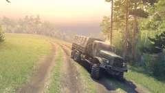 Mapa de Khanty-Mansiysk a versão Final para Spin Tires