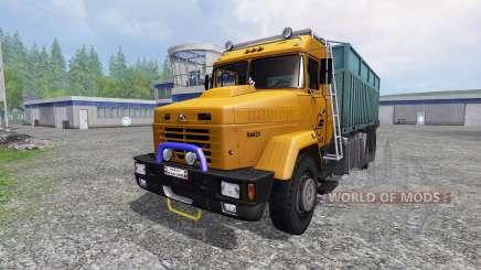 KrAZ-64431 [caminhão] para Farming Simulator 2015