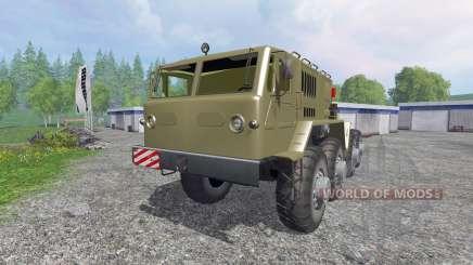 MAZ-537 para Farming Simulator 2015
