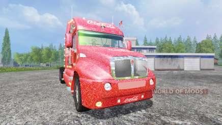 Kenworth T2000 [Coca-Cola Christmas] para Farming Simulator 2015
