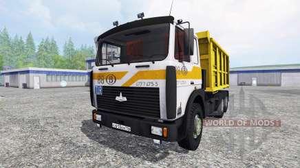 MAZ-5516 v2.0 para Farming Simulator 2015