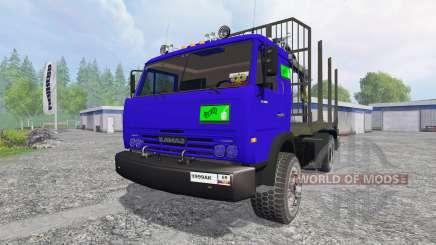 KamAZ-54115 [caminhão] v1.0 para Farming Simulator 2015