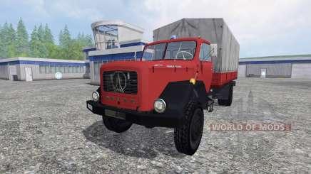 Magirus-Deutz 200D26 1964 [feuerwehr] para Farming Simulator 2015
