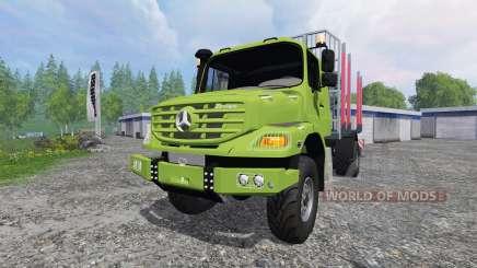 Mercedes-Benz Zetros 1833 [forest] v2.0 para Farming Simulator 2015