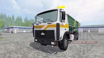 MAZ-5516 [silo de caminhão] para Farming Simulator 2015