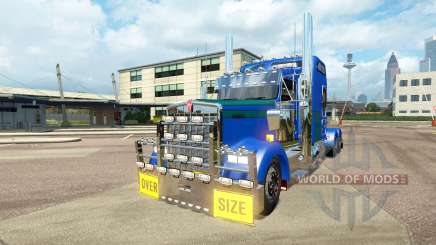 Kenworth W900L [customs] para Euro Truck Simulator 2