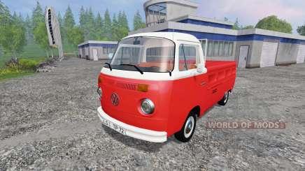 Volkswagen Transporter T2B 1972 para Farming Simulator 2015