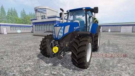 New Holland T7.170 [Blue Power] para Farming Simulator 2015