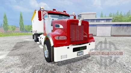 Kenworth T440 [dump] v2.0 para Farming Simulator 2015
