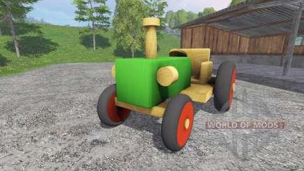 Trator de madeira para Farming Simulator 2015