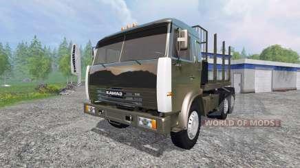 KamAZ-54115 [caminhão] v1.3 para Farming Simulator 2015