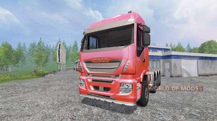 Iveco Stralis 560 8x4 v1.5 para Farming Simulator 2015