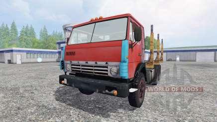 KamAZ 55102 [madeira] para Farming Simulator 2015