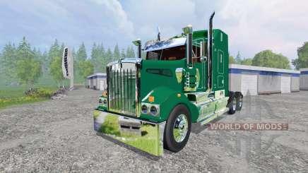 Kenworth T908 [John Deere] para Farming Simulator 2015