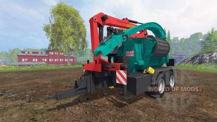 JENZ HEM 583 Z v2.0 para Farming Simulator 2015