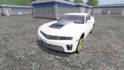 Chevrolet Camaro ZL1 para Farming Simulator 2015