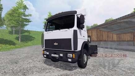 MAZ-5432 [branco] para Farming Simulator 2015