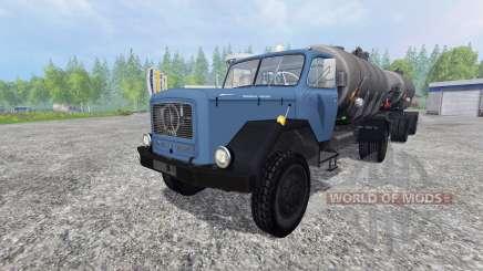 Magirus-Deutz 200D26 1964 [tanker] para Farming Simulator 2015