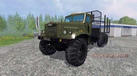 KrAZ-255 B1 [madeira] para Farming Simulator 2015