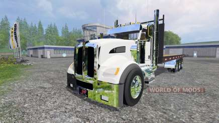 Kenworth T440 [flatbed] para Farming Simulator 2015