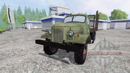 ZIL-157 [madeira] para Farming Simulator 2015