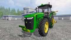 John Deere 8370R [Degelman silage blade] para Farming Simulator 2015