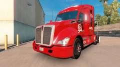 ATA de Logística para a pele do Kenworth trator para American Truck Simulator