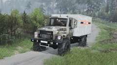GAZ-3309 [camuflagem][08.11.15] para Spin Tires