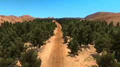 Mapa de fora-de-estrada para American Truck Simulator