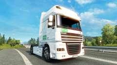 Pele PFAB no tractor DAF para Euro Truck Simulator 2