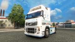 Baviera Express pele para a Volvo caminhões para Euro Truck Simulator 2