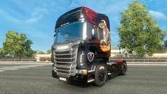 Para a pele do caminhão Scania para Euro Truck Simulator 2