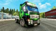Biohazard pele para a Volvo caminhões para Euro Truck Simulator 2