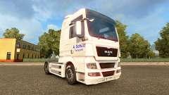 Pele A. Schulz no caminhão HOMEM para Euro Truck Simulator 2