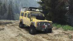 Land Rover Defender 110 Camel Trophy [25.12.15] para Spin Tires