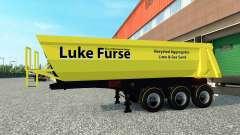 Lucas Furse pele para engate de reboque para Euro Truck Simulator 2