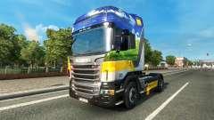 Gasunie de Transporte de pele para o Scania truck para Euro Truck Simulator 2