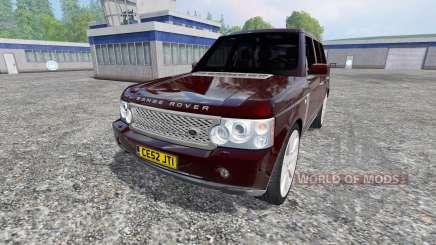 Range Rover Supercharged 4WD para Farming Simulator 2015