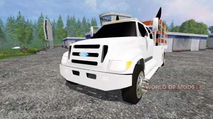 Ford F-650 [stakebed] para Farming Simulator 2015