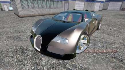 Bugatti Veyron v2.0 para Farming Simulator 2015