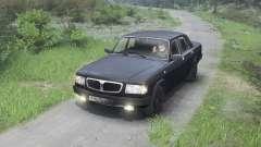 GAZ-3110 Volga [black][03.03.16] para Spin Tires