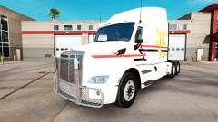 Linhas de pele no trator Peterbilt para American Truck Simulator