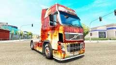 Rostlaube pele para a Volvo caminhões para Euro Truck Simulator 2