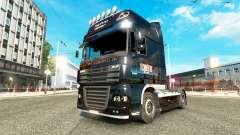 Techno4ever pele para caminhões DAF para Euro Truck Simulator 2